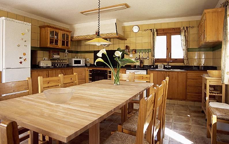 Can Cocina Girona/Gerona Vilobí d'Onyar Casa en entorno rural - Cocina