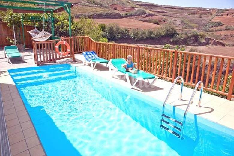 Villa en la monta a para un perfecto relax monta a alta - Villas en gran canaria con piscina ...