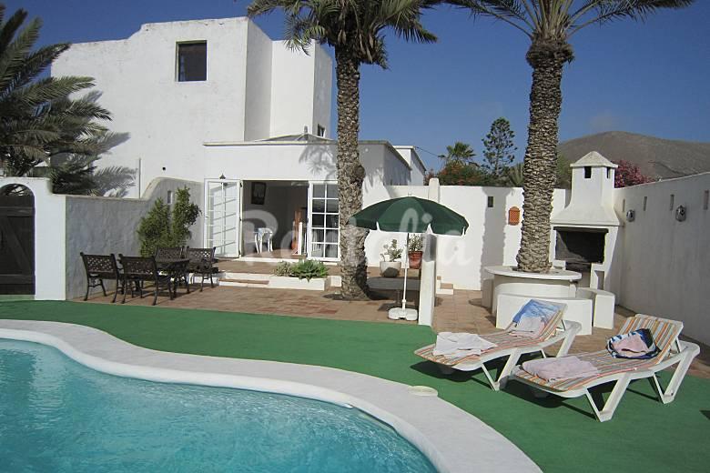 Finca la vegueta 3 casas con piscina privada la vegueta for Casas vacacionales con piscina
