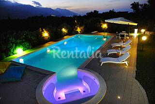 Villa for 6-7 people 3 km from the beach Trapani