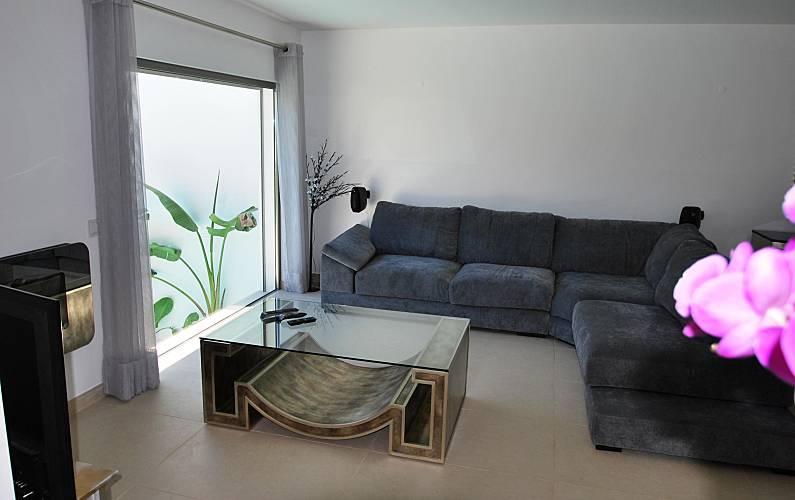 Luxuosa Sala Algarve-Faro Loulé casa - Sala