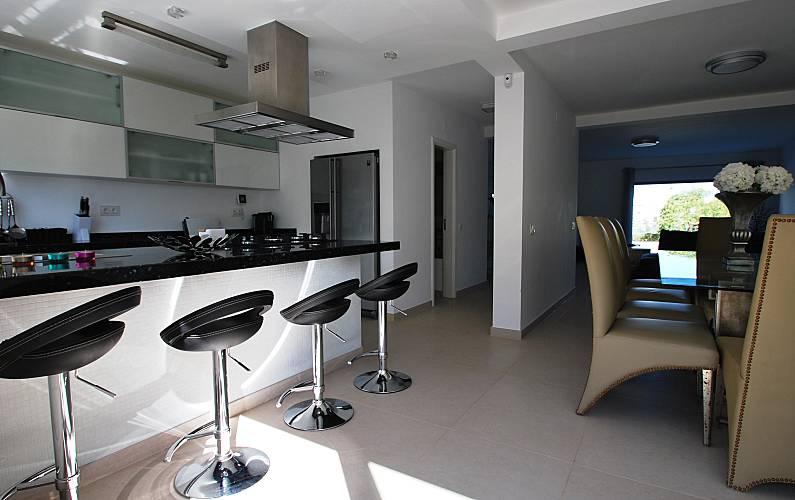 Luxuosa Cozinha Algarve-Faro Loulé casa - Cozinha