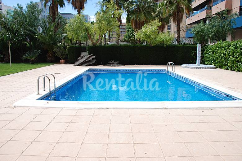 Tico d plex park avenue 250m2 lujo piscina valencia for Piscinas publicas valencia
