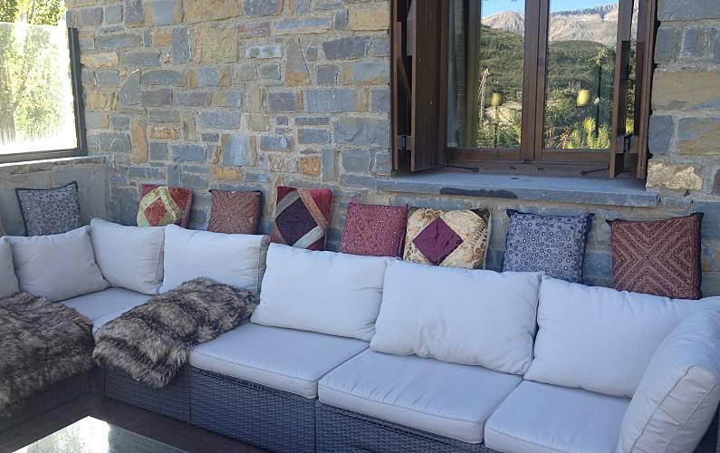 Luxury Terrace Huesca Sallent de Gállego Apartment - Terrace