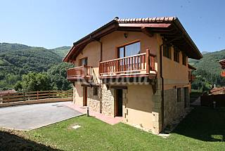 6 Maisons en location avec jardin privé Cantabrie