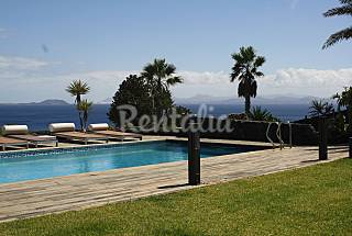 Great Villa with stunning views of the sea. Lanzarote