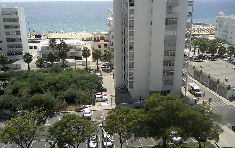 Apartment for 5 people on the beach front line Algarve-Faro - Views from the house