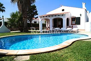 Villa in affitto con piscina Minorca