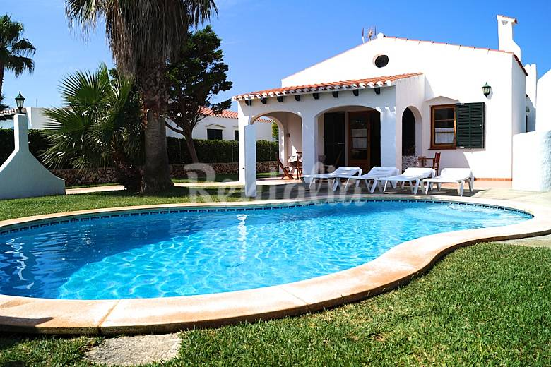 Villa En Location Avec Piscine Cap D 39 Artrutx Ciutadella