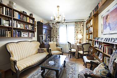 House Living-room Zaragoza Novillas Cottage