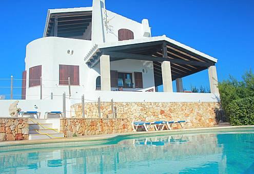 Villa met 3 slaapkamers op 200 meter van het strand Menorca