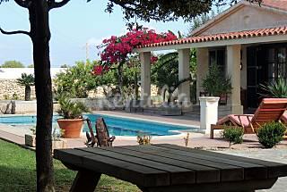 Villa de 3 habitaciones a 4 km de la playa Menorca