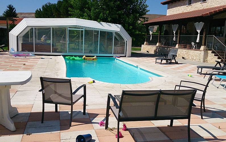 Haus für 19-20 Personen mit Pool - Dehesa Peñalba, Villabáñez ...