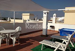 Apartments for rent only 50 meters from the beach Cádiz
