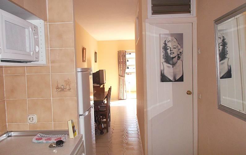 Apartamento Interior del aloj. Málaga Benalmádena Apartamento - Interior del aloj.