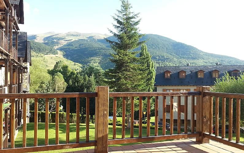 Apartment for rent Cerler Huesca - Terrace