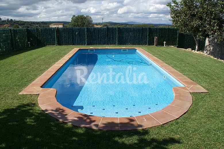 Villa para 7 personas a 4 km de la playa y piscina pals - Piscina devesa girona ...