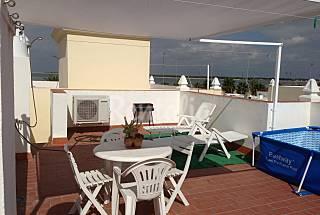 Atico vistas al mar y al coto.a.acondic.wi Cádiz