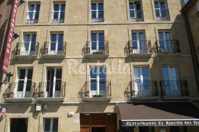 12 Parte esterna della casa Rioja (La) Haro Appartamento