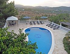 Villa met 4 slaapkamers op 3 kilometer van het strand Ibiza
