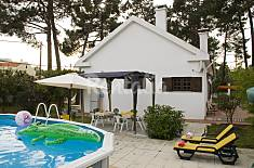 House near the beach / Lisbon 20km,garden, BBQ Setúbal