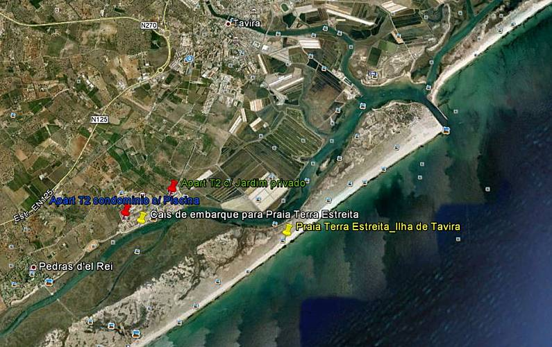 Modern Environment Algarve-Faro Tavira Apartment - Environment
