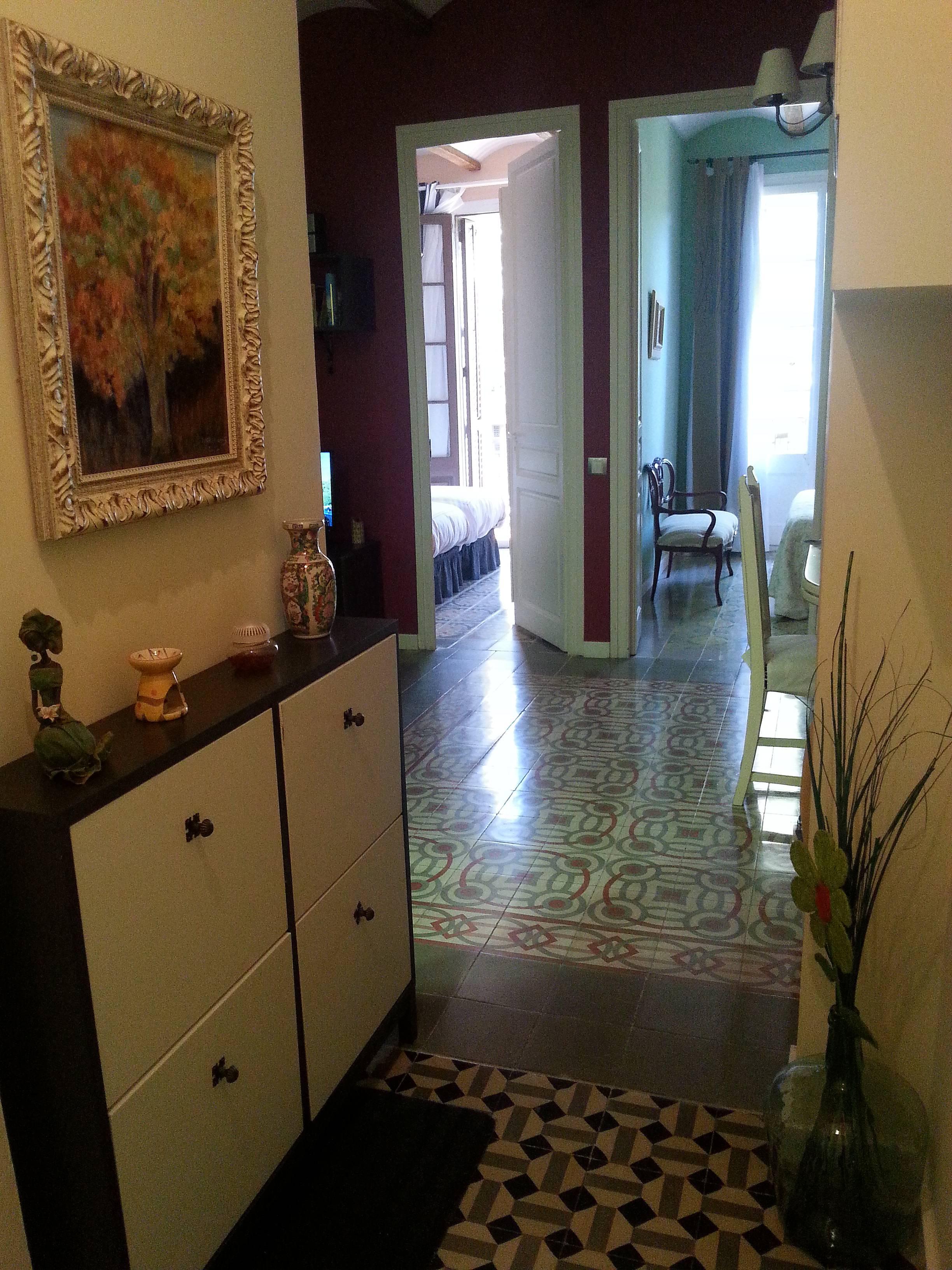 Appartement de 2 chambres barcelona centre barcelone - Chambres d hotes barcelone centre ville ...