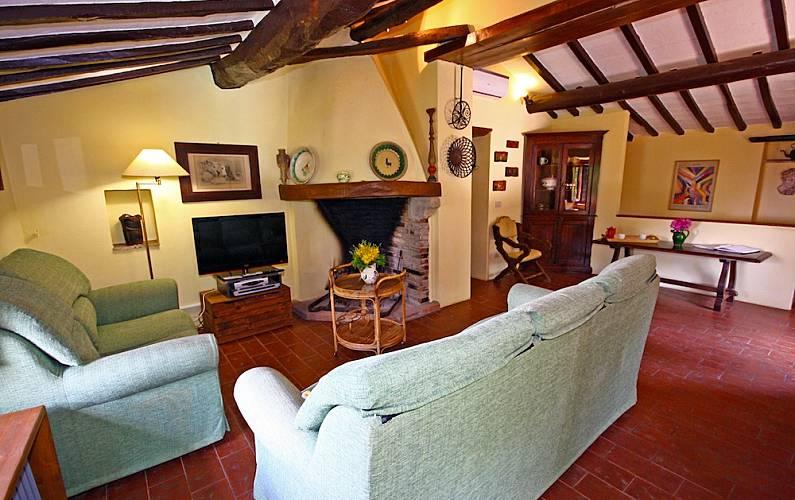 I Salotto Arezzo Cortona Casa di campagna - Salotto