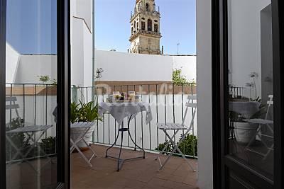 Apartamento con terraza junto a Mezquita Catedral Córdoba