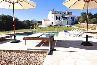Fantastic minorcan country house for 11 people Minorca