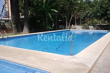 Apartamento 4 6 personas playa levante benidorm for Piscina climatizada benidorm