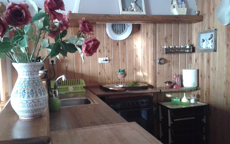 Apartment Kitchen Huesca Benasque Apartment - Kitchen