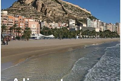 Piso lujo 7 personas en Alicante/Alacant Playa Alicante