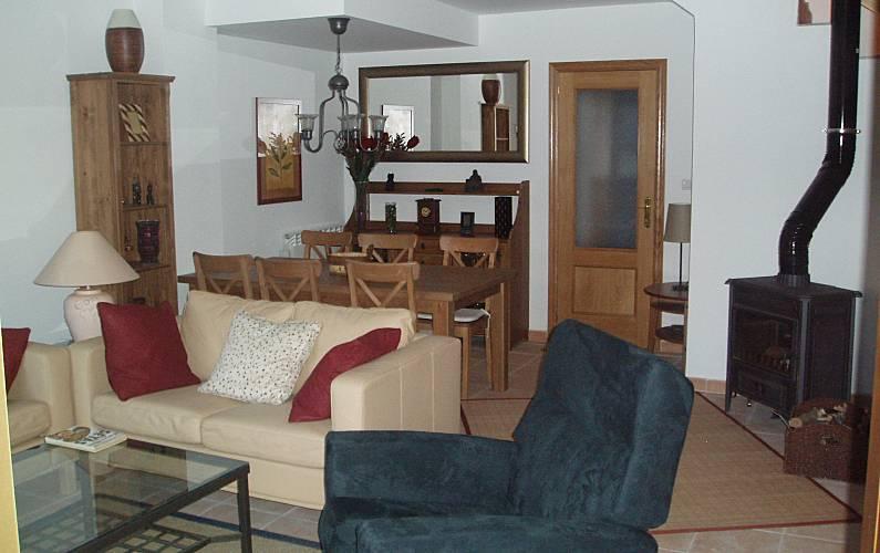House Living-room Huesca Sallent de Gállego House - Living-room