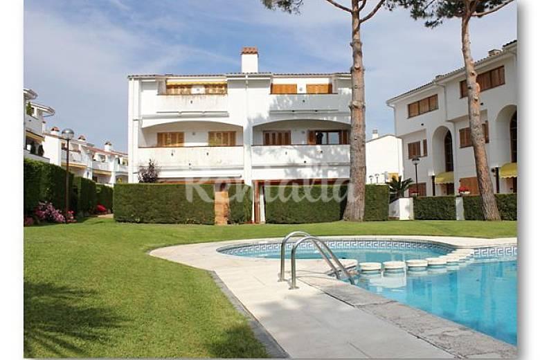 casa con piscina a 5 min de la playa platja d 39 aro