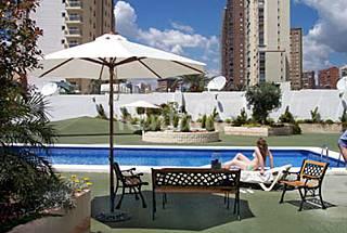 Ideal familias, con aire acond. Y parking Alicante