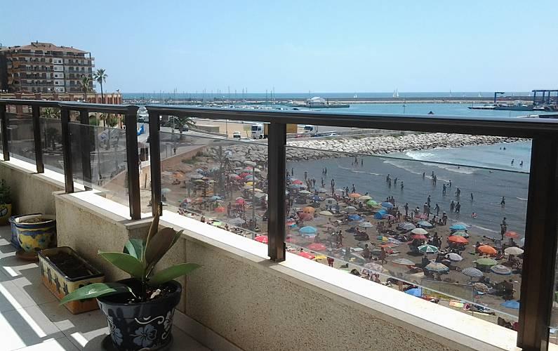 Vistas desde la casa Castellón Vinaròs Apartamento - Vistas desde la casa