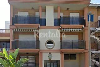 Apartamento para 12 personas a 100 m.de la playa Murcia
