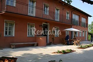 2 Houses - La Terrazza - Vacation Home in Roero, Piemont Asti