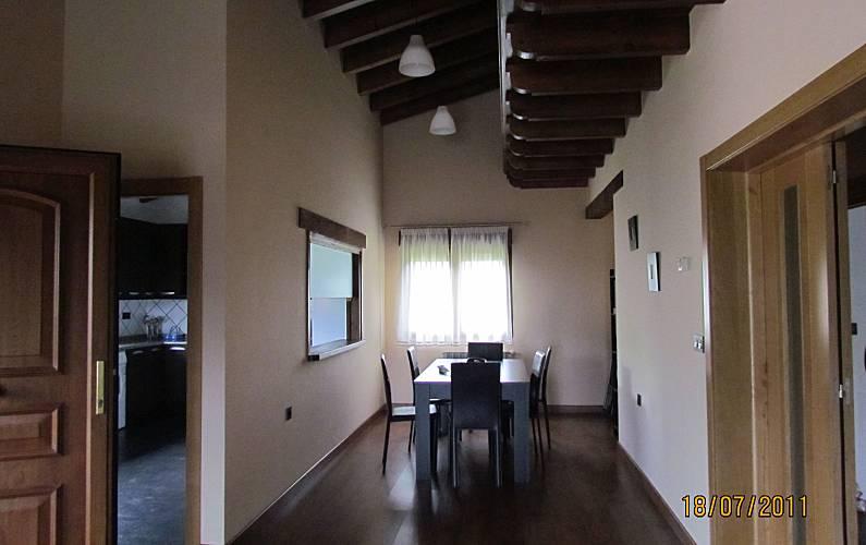 Casa Comedor Asturias Ribadesella Casa en entorno rural - Comedor