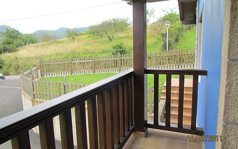 Casa Vistas desde la casa Asturias Ribadesella Casa en entorno rural - Vistas desde la casa