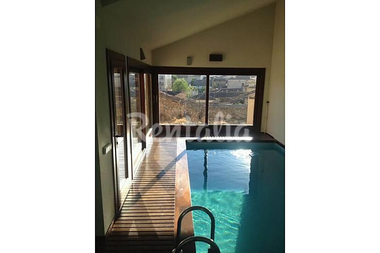 Villa lujo piscina climatizada 8 km de pedraza matilla la segovia - Piscina climatizada segovia ...