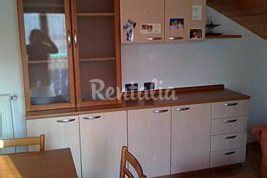 Apartment Kitchen Trentino Pellizzano Apartment