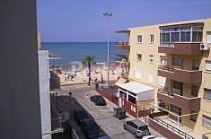 Apartamento para 4-8 personas a 30 m de la playa Cádiz