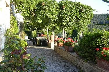 Independent Terrace Perugia Spoleto Countryside villa