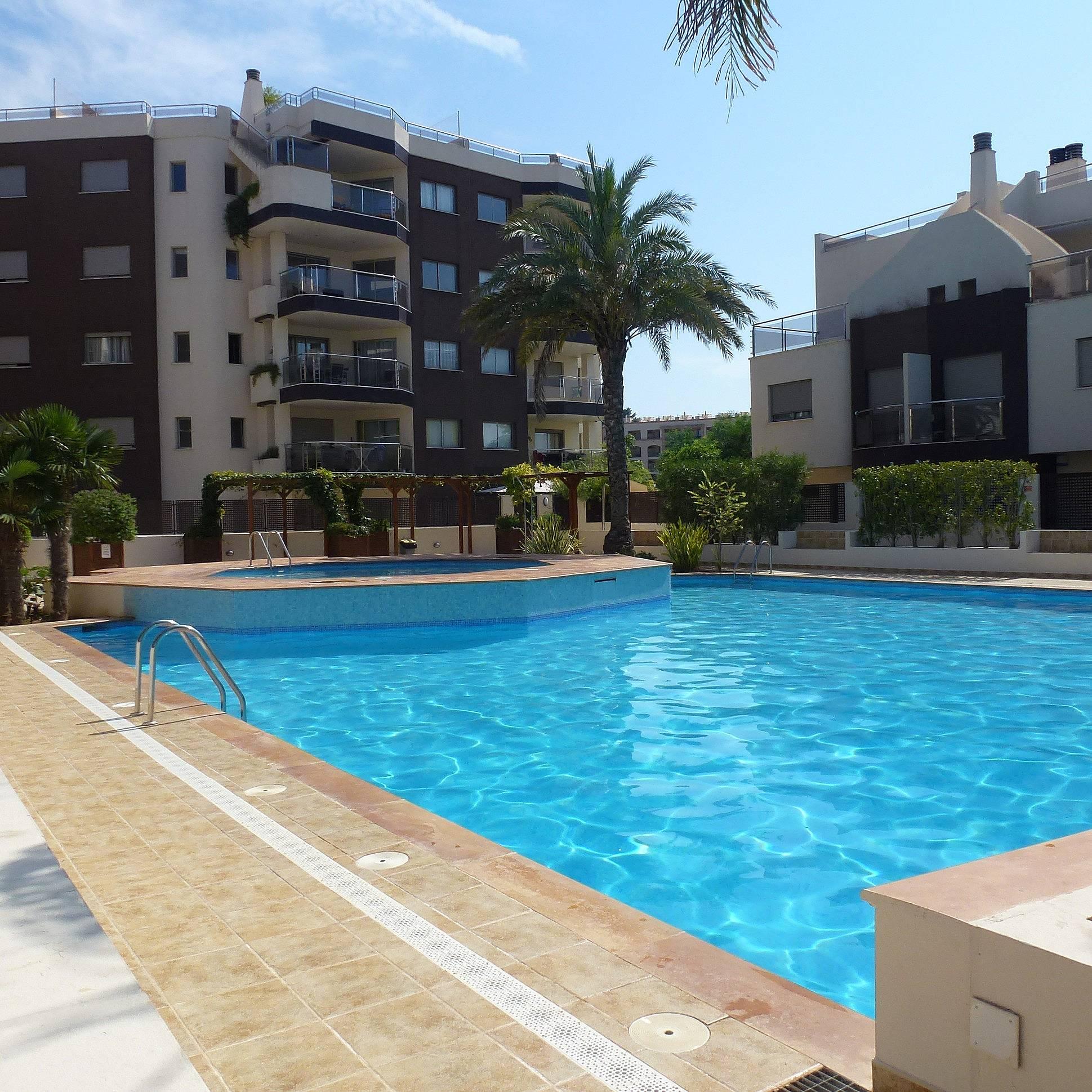 Apartamento 2 dorm en urbanizaci n con piscina santa eulalia santa eulalia del r o ibiza - Apartamentos santa eulalia ibiza ...