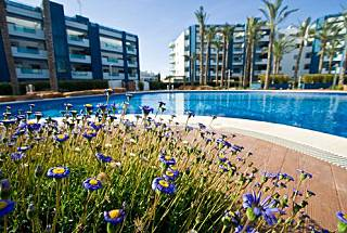 Apartment  3 bedrooms in development with pool Ibiza