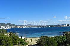 Apartment with 2 bedrooms on the beach front line Ibiza