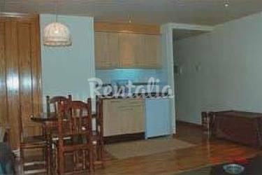 2 Kitchen Lerida Vielha e Mijaran Apartment