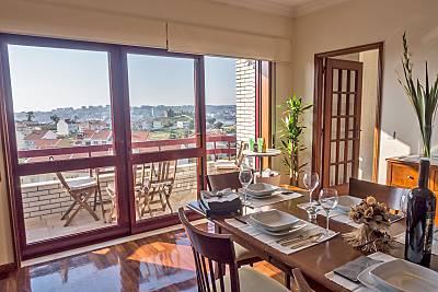Apartamento com 3 quartos a 1000 m da praia Porto